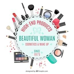 Beauty store emblem