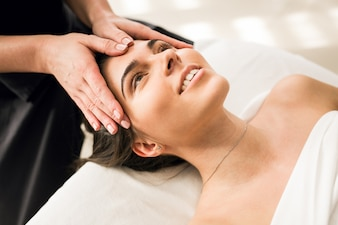 Beauty woman hot therapy body