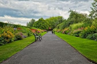 belfast botanic gardens   hdr