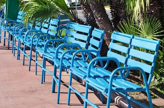 Benches in cannes france