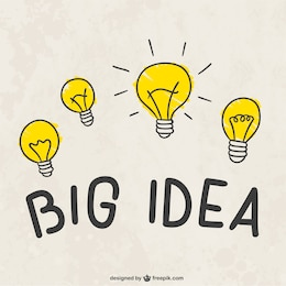 Big idea light bulbs
