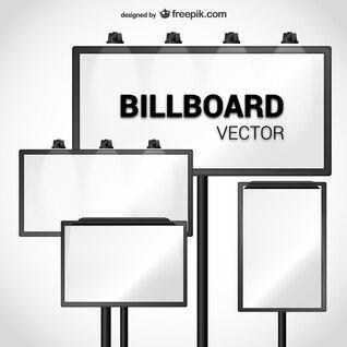Billboard vector pack