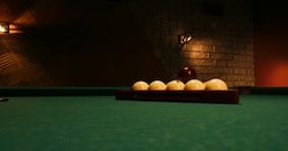 billiards  green