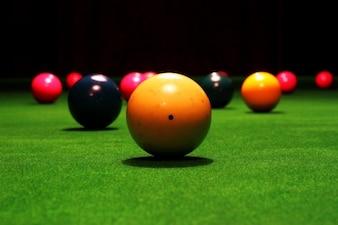 Billiards fun fast game circle