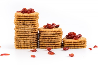 Biscuits with dates