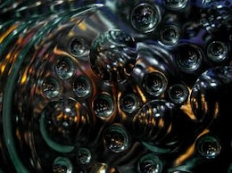 black abstract bubble background  green