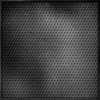 Black aluminium texture