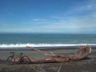 Black Bike in South Canterbury