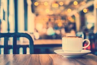 Black cappuccino picture drink decoration