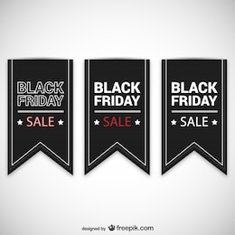 Black Friday sales labels
