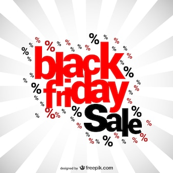 Black Friday sales lettering