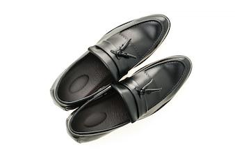 Black pair shoes beauty male