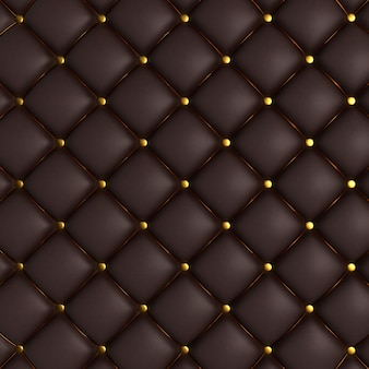Black quilted texture
