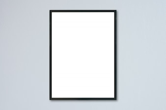 Blank pattern placard gray material