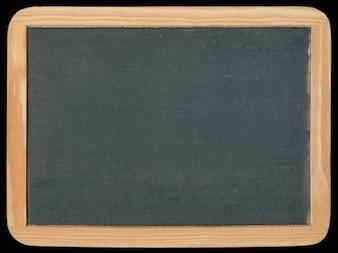 Blank vintage chalkboard