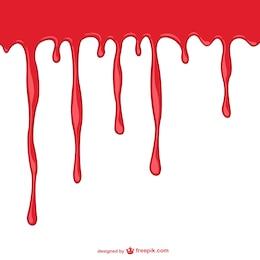 Bleeding background template