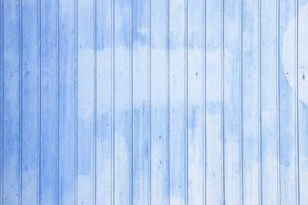 Blue aged wooden wall