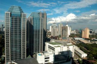 Blue City, sky