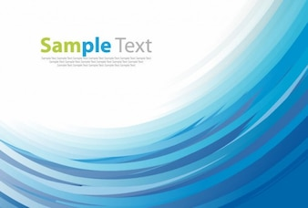 blue curves vector background