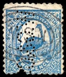 blue emu stamp  black