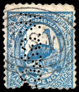 blue emu stamp  black