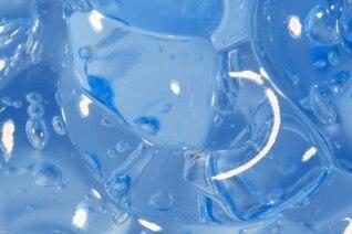 blue gel macro