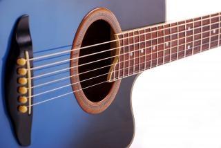 青いギター青