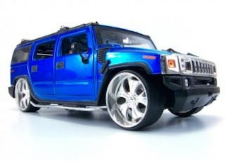 Blue hummer toy, prices