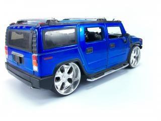 Blue hummer toy, sport