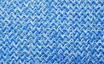 ブルー毛糸