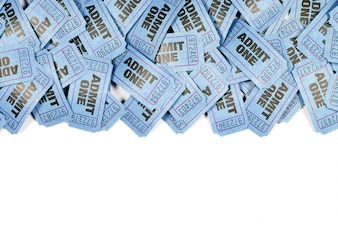 Blue movie tickets