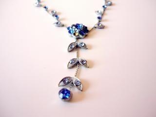 Blue Necklace, jewelry