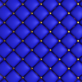 Blue quilted texture
