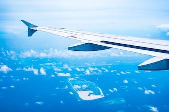 Blue sea travel africa maldives