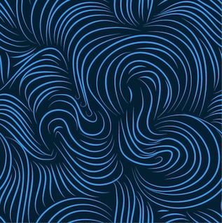 blue seamless art background vector