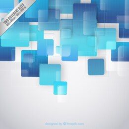 Blue squares background