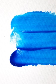 Blue watercolor stain