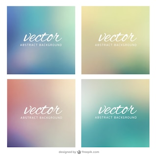 Blur background vectors