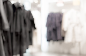 Blurred background - clothing store
