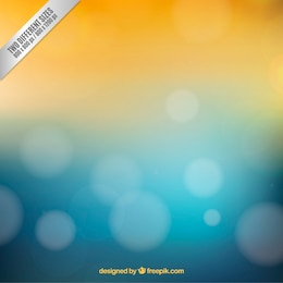Blurred background with summer colors