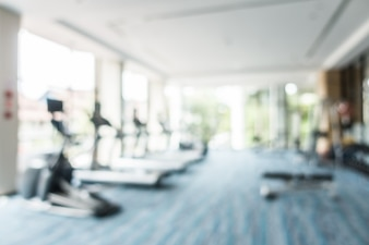 Blurred cardio machines