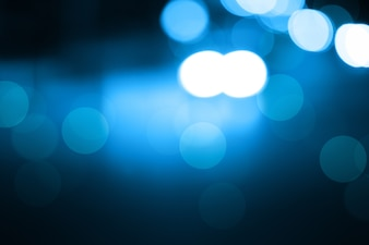Blurred light blue gradient bokeh abstract background