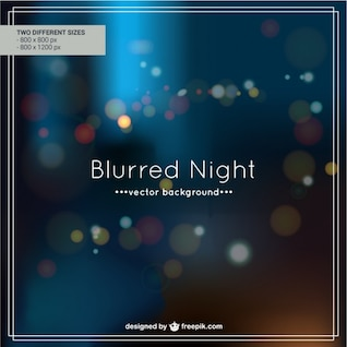 Blurred night background design