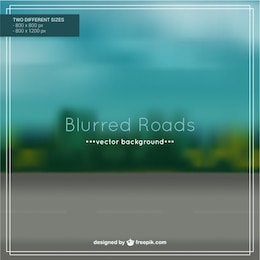 Blurred Roads background design