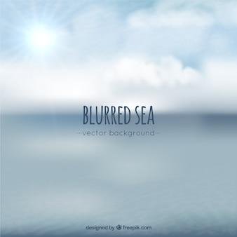 Blurred sea background
