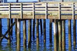 Boardwalk, woodwork