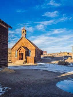 Bodie Ghost Town California State Park .