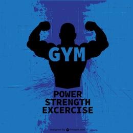 Bodybuilder free logo