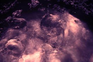 Boiling water, fluid