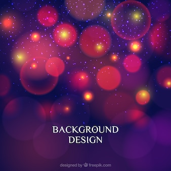 Bokeh background in purple and pink tones